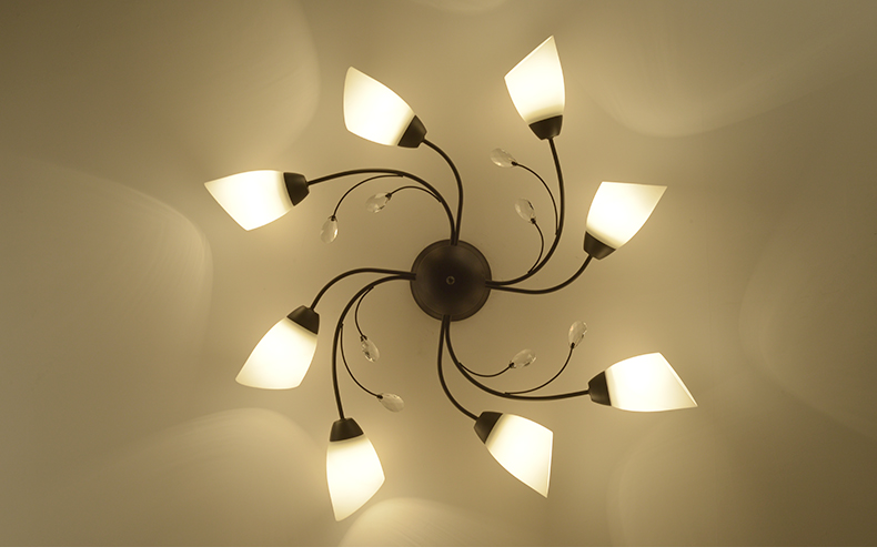 DX Rotate Flowe rLed Chandelier (5)