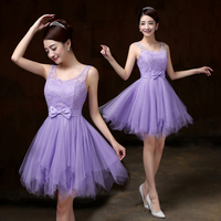 Cheap Hot Sale 2016 Short Prom Dresses Sweetheart Top LaceTulle Light Pink Cocktail Dresses