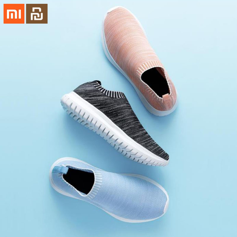 6 color original xiaomi youpin casual lightweight casual shoes for men and women only 178g Portable Home Slippers Smart