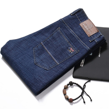 ФОТО jeans man  clothing jeans straight, medium and straight cotton, thin fabric, embroidered jeans billionaire men