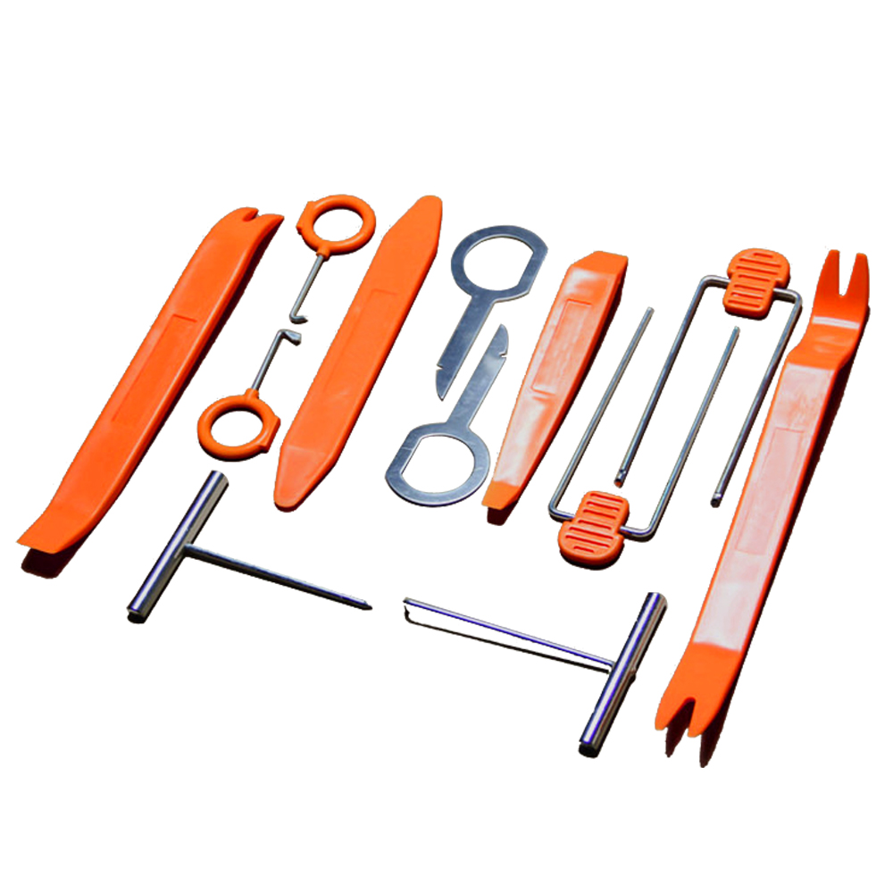 Car DVD Frame Kit Removal Tools Car Plastic Panel Dash Audio Stereo GPS Molding Removal Install Tools Kit