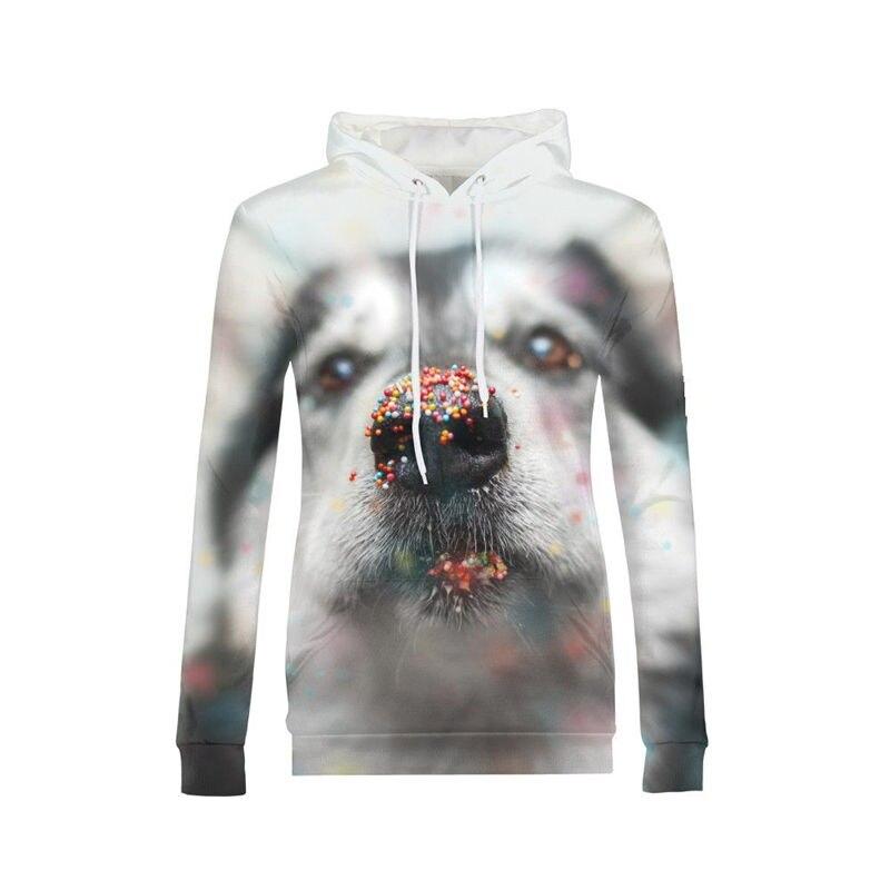VEEVAN marque conception vestes à capuche femmes mode Cool mignon Animal chat chien 3D impression Hoodies pull à capuche manches complètes sweat
