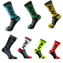 Northwave High quality Professional Brand Socks Breathable Road Bicycle Outdoor Sports Cycling Football Sock Knee-High