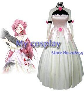Anime Code Geass Cosplay clothing Dress Costume Women s Party Costume Free  shipping c1f4d76654cf