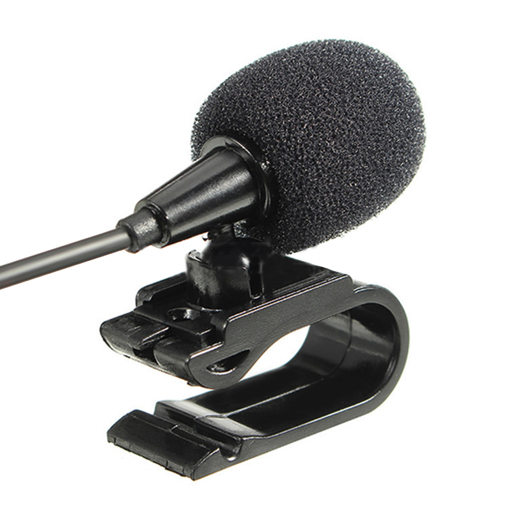 Mini Professional Lavalier Microphone 3.5mm Jack Plug Mic Stereo Mini Wired External Mic For PC Mic Transmitter