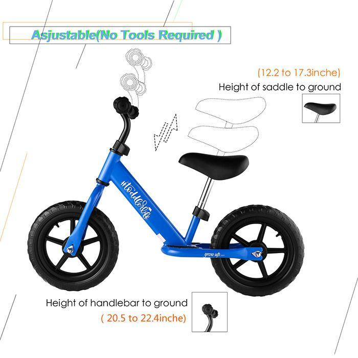 ANCHEER Child Balance Bike Kit Toddler bicicleta Balance Bikes Bicycle Children Walker No Foot Pedal bisiklet girls boys Scooter
