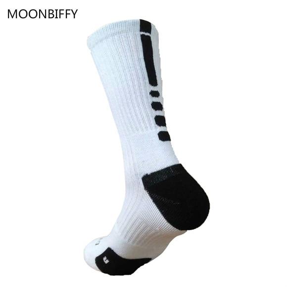Brand Outdoor Sport New Elite Cycling Socks Men Long Coolmax Basketball Soccer Socks Male Compression Socks