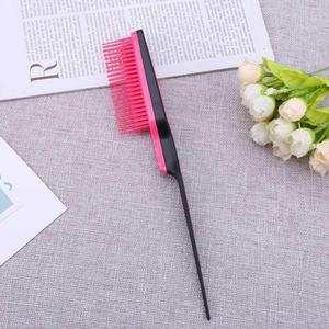 Image 3 - 1pc Pointed Tail Comb Prevent Hair Loss Hair Brush Salon tool Styling Comb Multiple Comb Teeth Comb