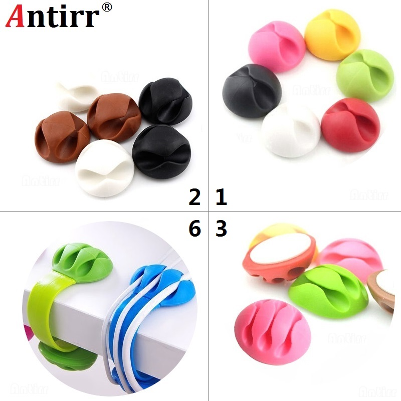 Clip Cable Winder Clamp Protector Earphone Organizer Usb Charger Wire Cord Pen Desk Fixer Line Tidy Collation Management Always Buy Good Digital Cables