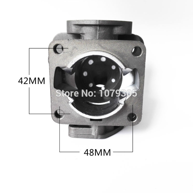TL33 / CG330 1E36F Krūmapjovės žoliapjovės cilindrų komplektas, - Sodo įrankiai - Nuotrauka 6