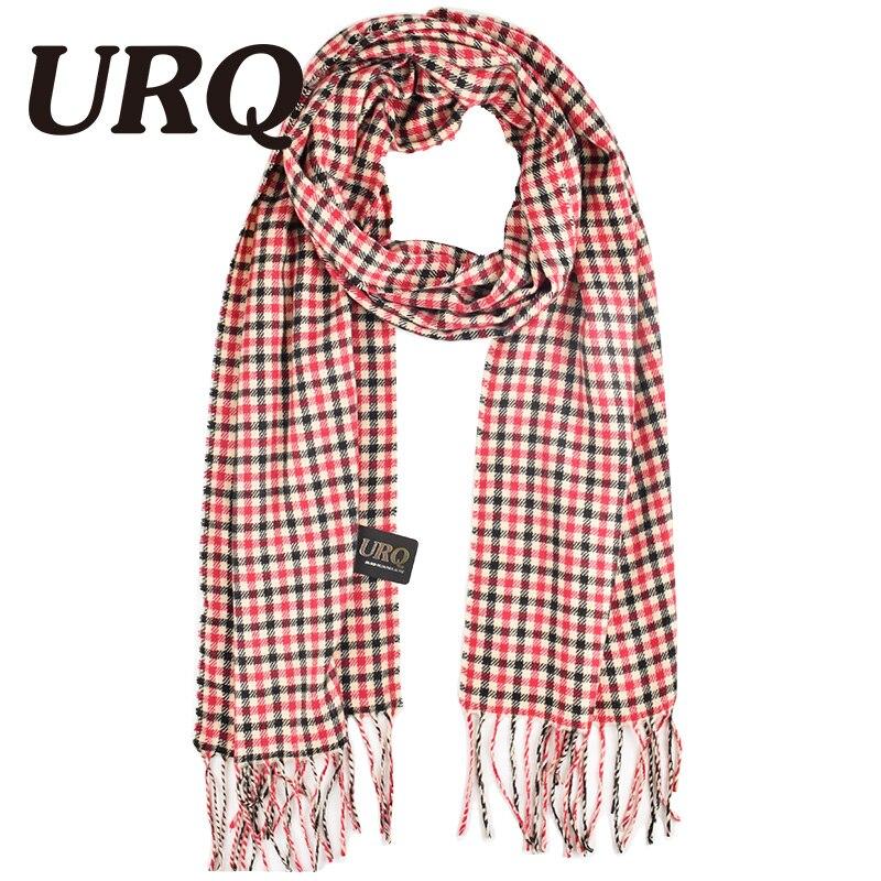 Brand Name URQ Design Mens Classic Cashmere Shawl Winter Warm Long Fringe Striped Tassel Scarf A3A17737