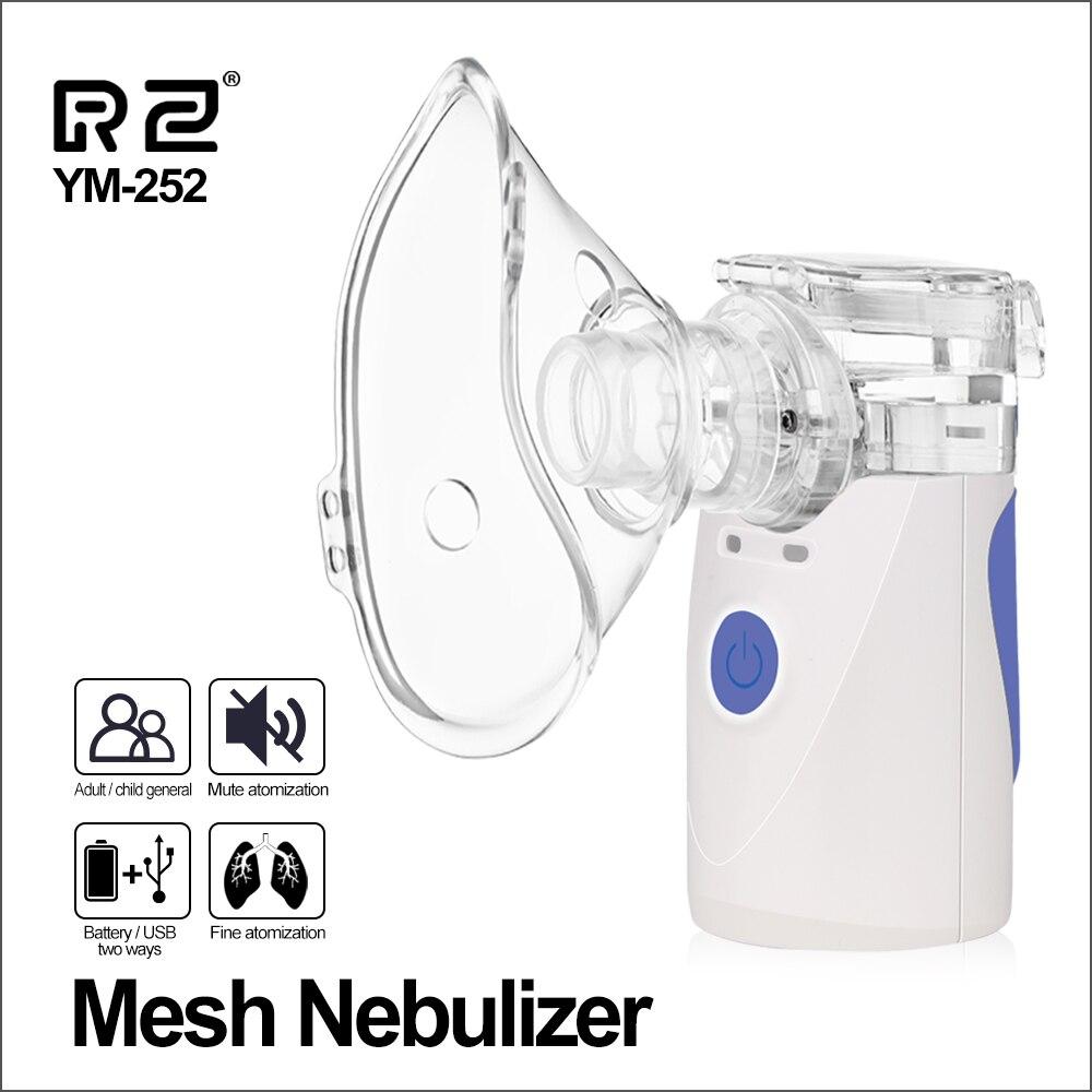 RZ Health Care Handheld Nebulizer Home Children Adult Asthma Inhaler Mini Nebulizador Automizer Care Inhale Medication