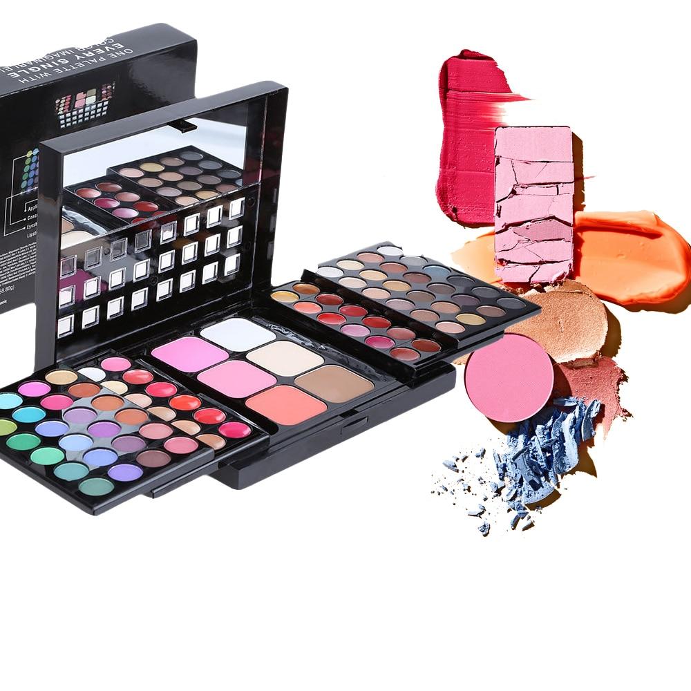 все цены на POPFEEL 78 Colors Eye Shadow Makeup Cosmetics Eyeshadow Palette Portable Makeup Cosmetics Nude Eye Shadow Naked Waterproof