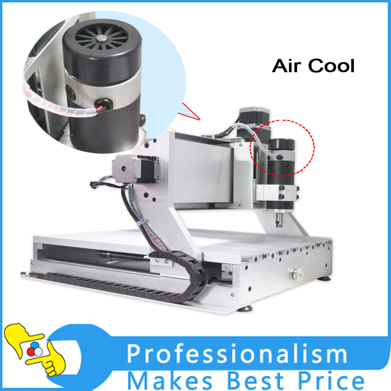 CNC 3020  USB port  air cooling 200w engraving carving machine  trapezoidall screw cutting machine