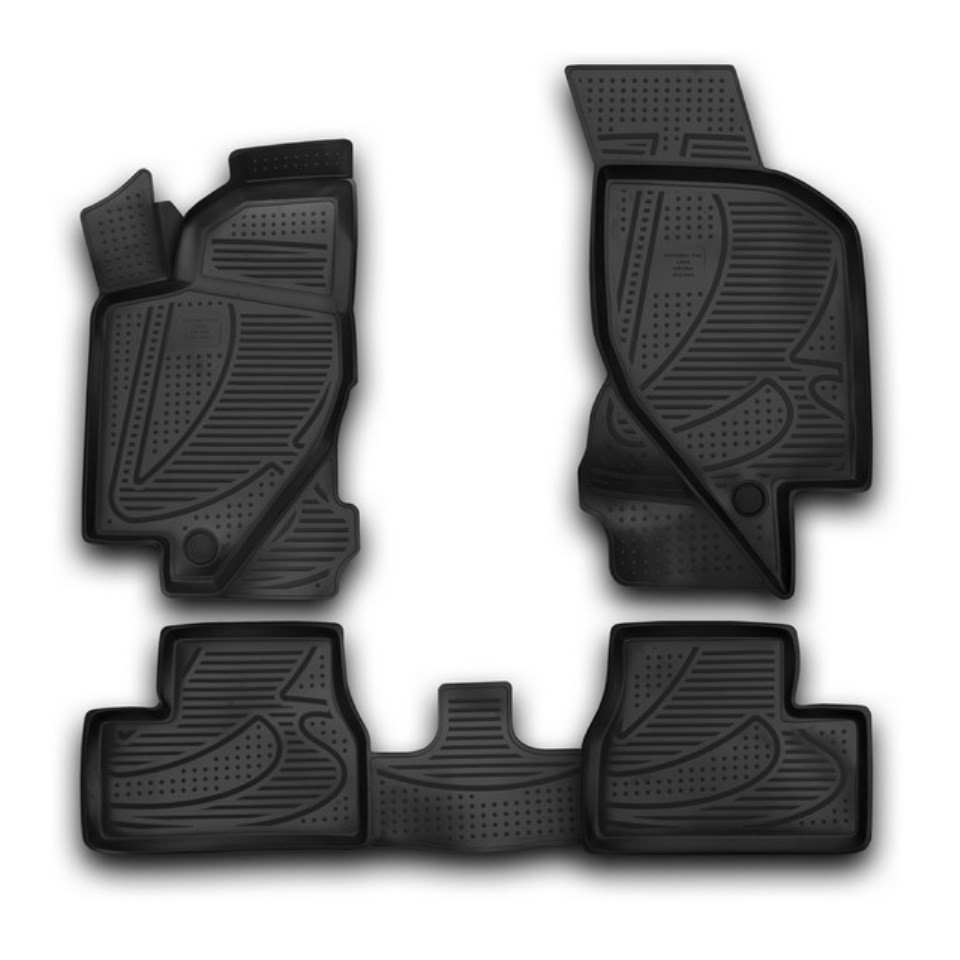 3D Floor mats for Lada Kalina 2004-2017 Element F400250E1 3d floor mats for lada largus element f620250e1