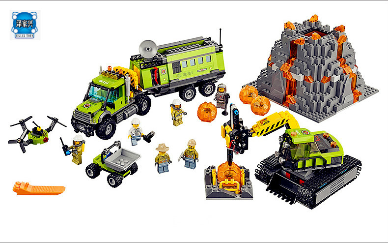 Model Building Kits Compatible with Lepins City 60124 Operations Center Truck Excavator Dumper Brick Model Building Toys 889pcs system center operations manager 2007 unleashed