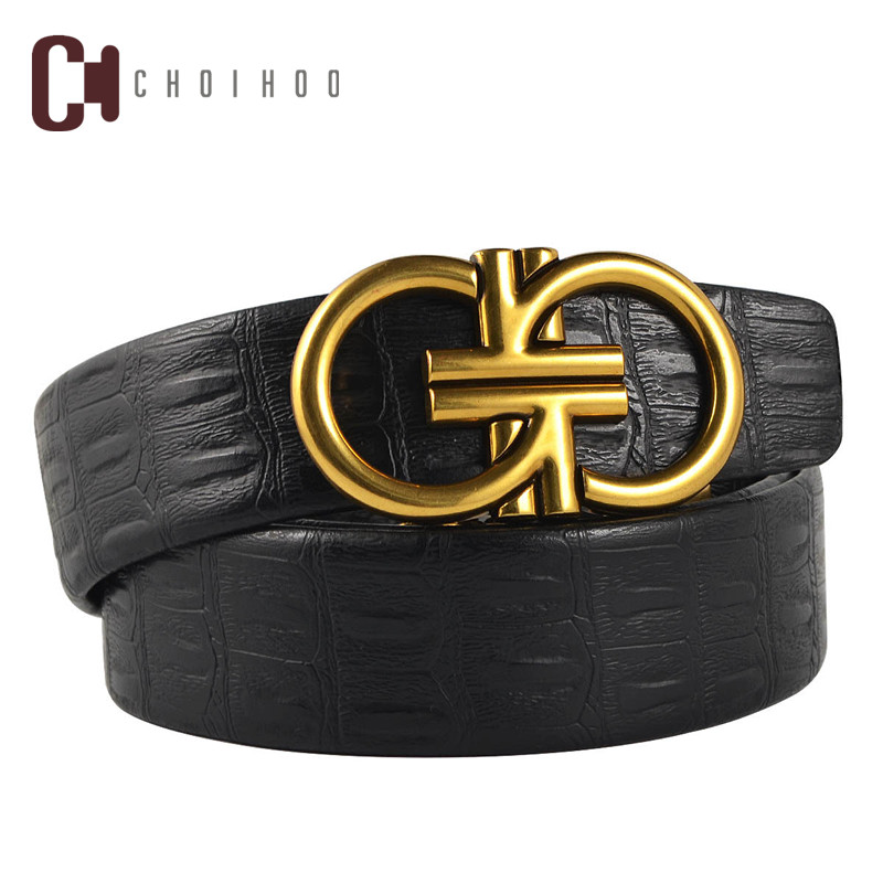 2018 High quality design men's business fashion and popular leather   belt  , brand personality luxury women h buckle   belt   235