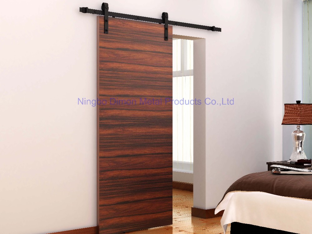 Dimon customized sliding door hardware with soft closing America style sliding door hardware DM-SDU 7201 with damper kits