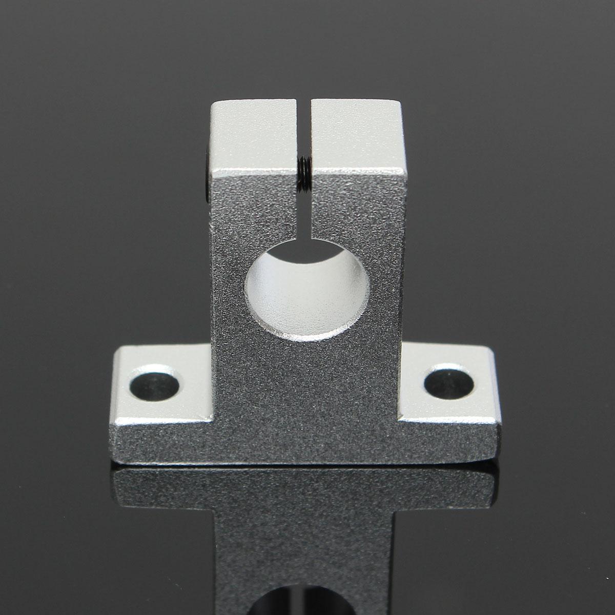 SK12 12mm Linear Bearing Rail Shaft Support Brackets XYZ Table CNC Router Accessories 42x14x37.5mm xyz table cnc milling sk20 20mm linear rail motion shaft support