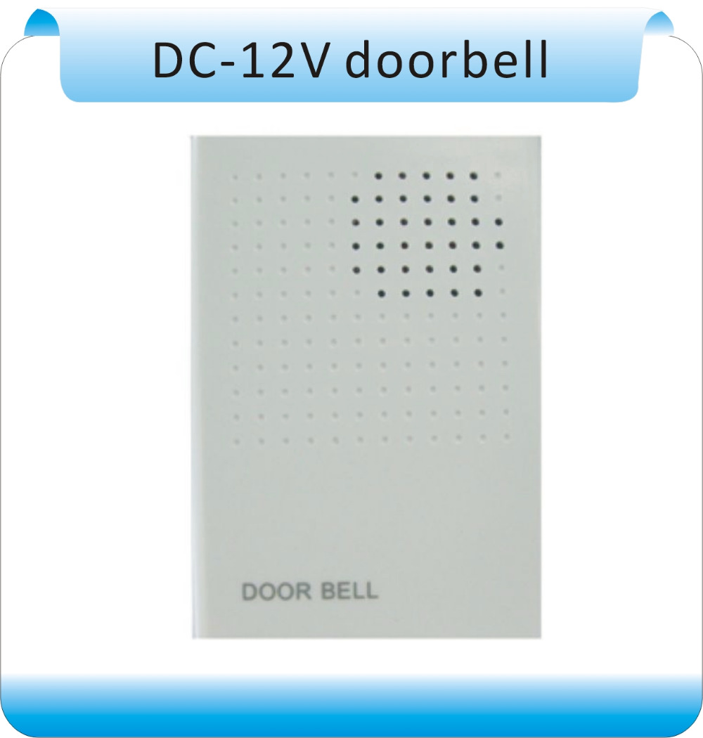 DC12V Ding-Dong Musical Wired Doorbell Door Bell Chime for Home Office Access DIY No need battery Electronic Door Bell Door Ring ring ding dong
