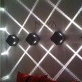 4 Efeito Feixe Estreito de Parede Ao Ar Livre Luz, CONDUZIU a Iluminação da Fachada Arquitetônica 4 Emissão de Arandelas de Parede de Entrada AC85 para AC265V