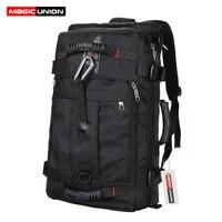 MAGIC UNION Brand Design Men's Travel Bags Fashion Men Backpacks Men's Multi purpose Travel Backpack Multifunction Shoulder Bag