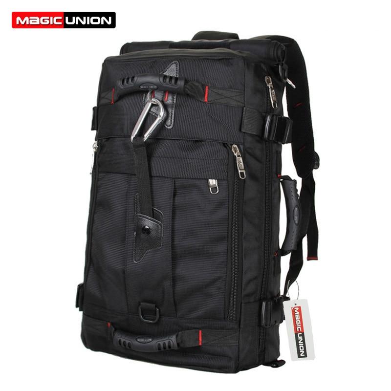 084583d89f62 MAGIC UNION Brand Design Men s Travel Bags Fashion Men Backpacks Men s  Multi-purpose Travel Backpack