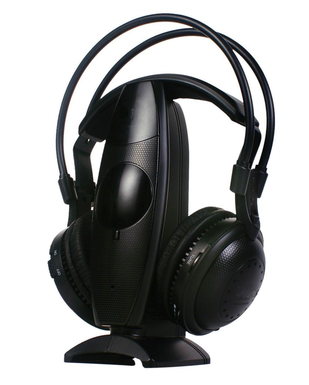 送料無料最低価格の高品質ワイヤレスサイレントディスコヘッドホンパーティー dj イヤホン TV 、 DVD 、 CD 、 pc ワイヤレスヘッドセット  グループ上の 家電製品 からの ヘッドホン/ヘッドセット の中 1