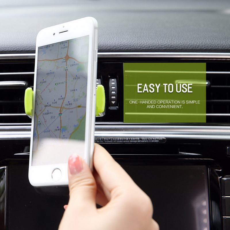 HTB1iC6VsY5YBuNjSspoq6zeNFXaj - GETIHU Car Phone Holder For iPhone X XS Max 8 7 6 Samsung 360 Degree Support Mobile Air Vent Mount Car Holder Phone Stand in Car