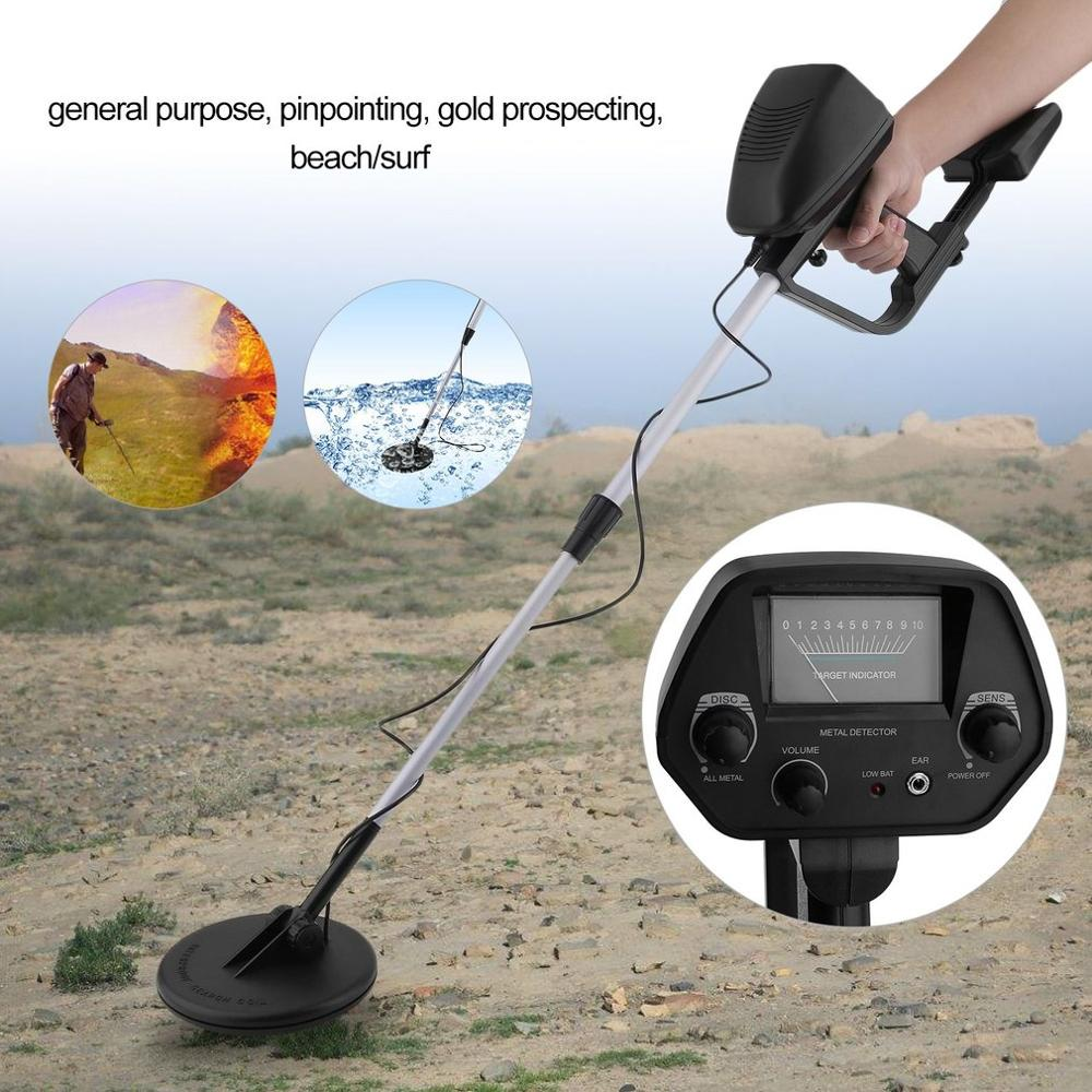 Underground Detector With Headphone To Find Metal Outdoor Treasure Hunter Sensitive Search Gold Digger Waterproof Detector