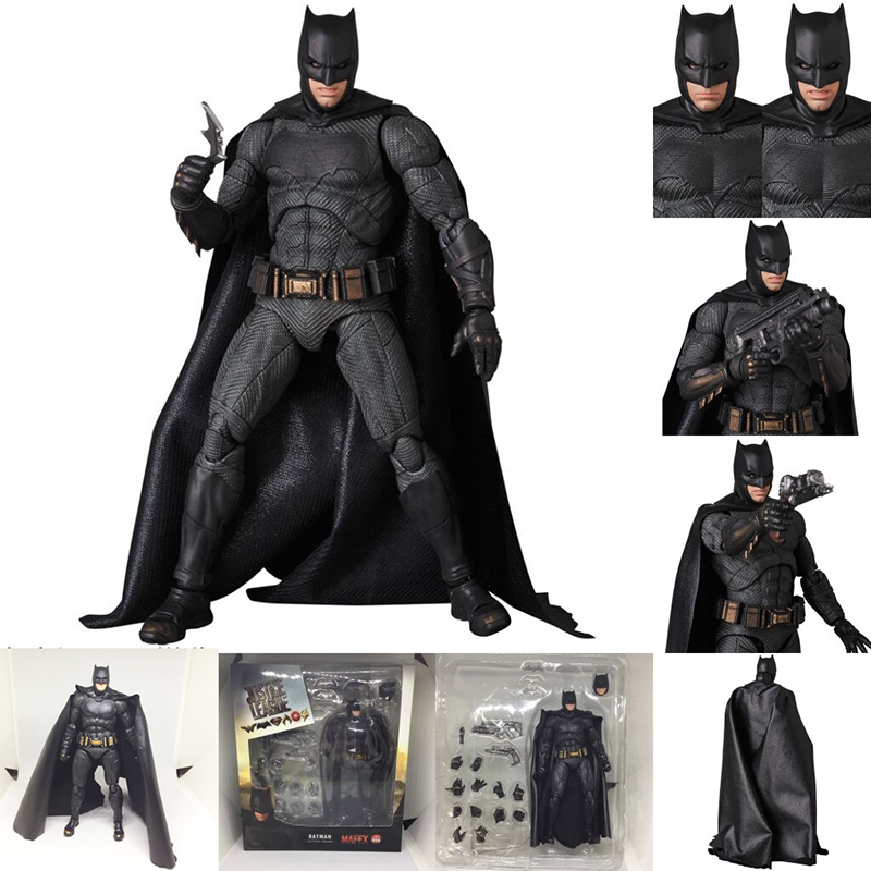 DC Justice League Super Hero MAFEX MAF Batman 056 Flash 058 Wonder Woman 048 Superman 057 Spiderman 047 Action Figure Toy Doll (44)