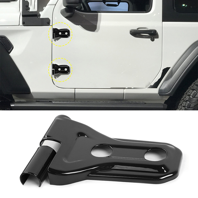 Hayon porte charnière couvercle pneu de rechange pour 18 Wrangler JL partie ABS plastique utile