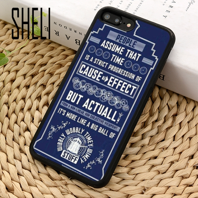 Competent Sheli Tardis Doctor Who Slim Phone Case Cover For Iphone 6 6s 7 8 Plus X Xr Xs Max 5 5s Se Samsung Galaxy S6 S7 Edge S8 S9 Plus Fitted Cases Phone Bags & Cases