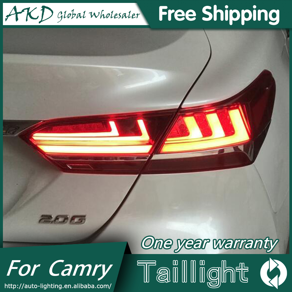 AKD Brand New Tail Lamp for Toyota Camry Tail Lights 2018 Camry XSE LED Tail Lamp Upgrade to LS400 Design LED Dynamic Signal-in Car Light Assembly from Automobiles & Motorcycles    1