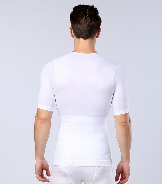 Frete grátis masculino emagrecimento barriga roupa interior de reduzir o peso de corpo moldar abdômen desenho fino homens corset