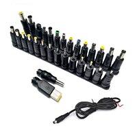 Alta qualidade universal ac dc jack conector da fonte de alimentação do portátil conector macho plug carregador cabeça conversão portátil alimentação dc jack|Conectores| |  -