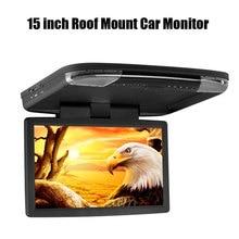15 дюймов Потолочный Монитор Автомобиля Поддержка MP5/USB и SD/MS/MMC