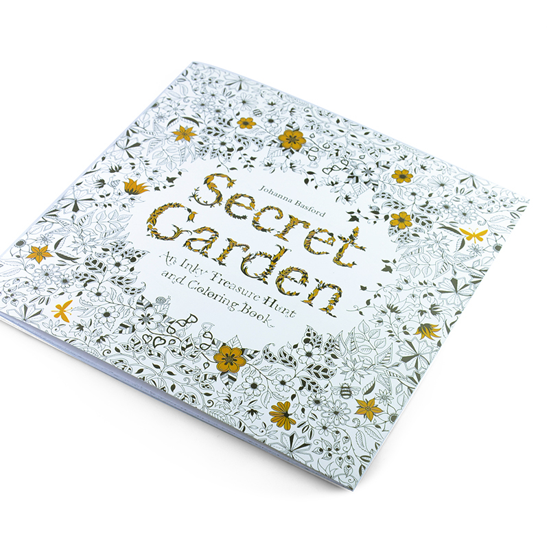 Office School Supplies Books 24 Pages Secret Garden English