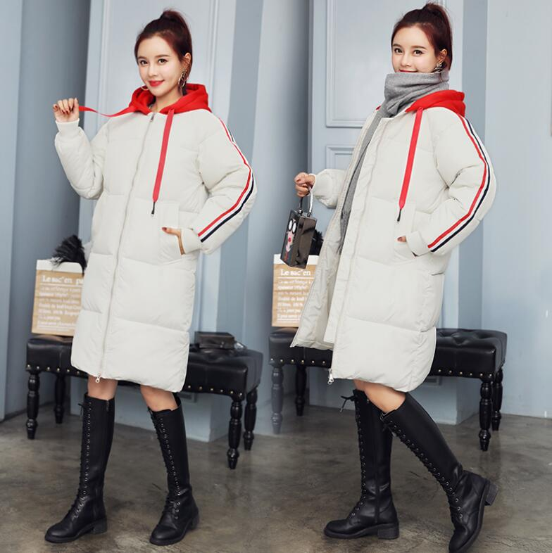 New winter fashion pregnant woman Winter clothes maternity down jacket outerwear women's coat pregnancy clothing warm parkas 2015 new hot winter cold warm woman down jacket coat parkas outerwear hooded loose luxury long plus size 2xxl splice cloak