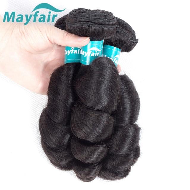 Mayfair Loose Wave Bundles Brazilian Hair Weave Extensions 100% Human Hair Bundles Remy Hair Extensions 3pcs/Lot