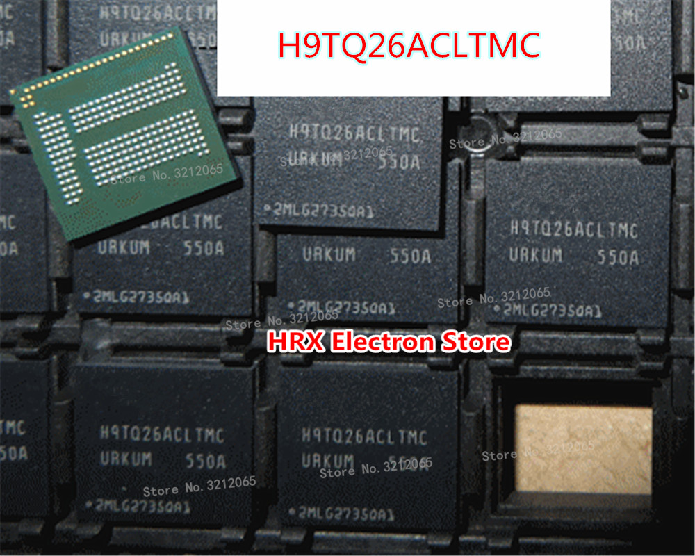 100% Nouveau Original H9TQ26ACLTMCUR-KUM BGA EMCP H9TQ26ACLTMC-URKUM H9TQ26ACLTMC