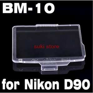 BM-10 Hard LCD Monitor Cover for Nikon D90 BM-10 d90 Screen Protector
