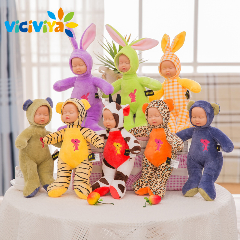 Stuffed e Plush Animais 25cm rabbit plush stuffed baby Forma : Animal