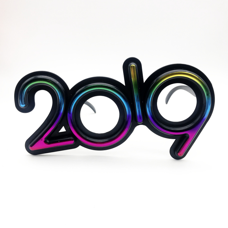 Colorful 2019 New Years Eve Glasses Novelty Sunglasses ...