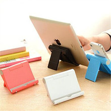 Portable Folding Mobile Phone Flat Bracket Base