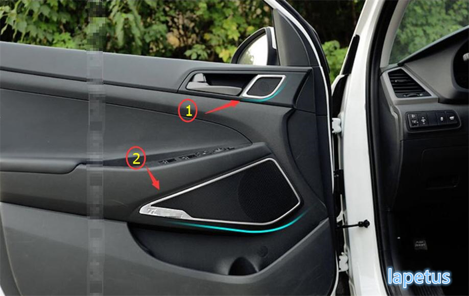 High Quality For Hyundai Tucson 2016 2017 Stainless Steel Side Door ...
