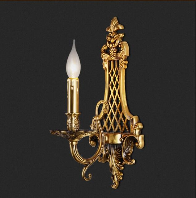 Aliexpress.com : Buy 1L D190mm H410mm Classical Golden Brass Wall ...