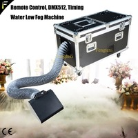 Floor Water Low Fog Liquid Machine 3000w Huge White Low Water Mist Smoke Fog Machine Effect Area Coverage 200m2 with Flight Case
