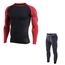73b1ca8375140 2019 corriendo hombres gimnasio ropa más terciopelo medias de terciopelo  ropa deportiva Fitness entrenamiento deportes Jogging