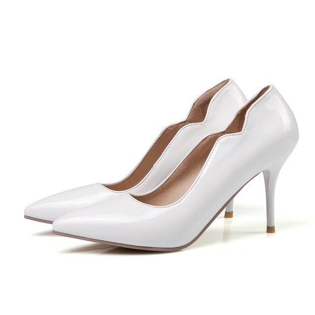 inch High Heels Pink Lady Dress Shoes